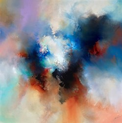 Calmed Spirit (RR) by Simon Kenny -  sized 48x48 inches. Available from Whitewall Galleries